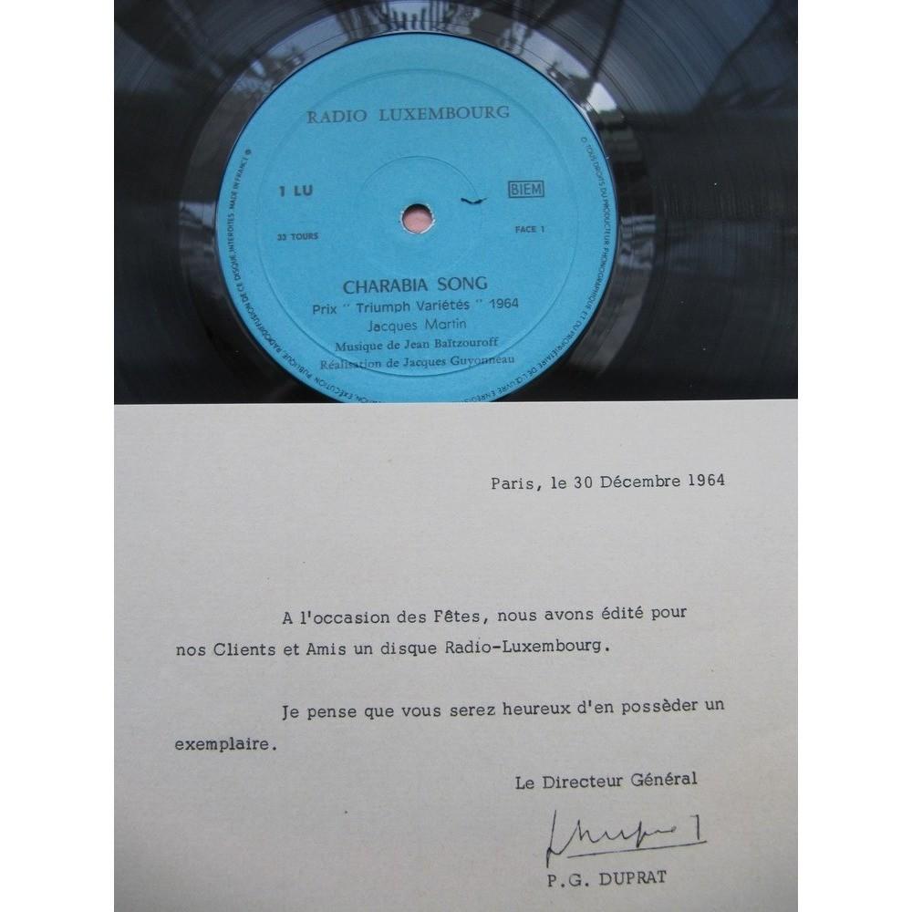 Jacques Martin, Jean-Pierre Farkas Radio Luxembourg 1964