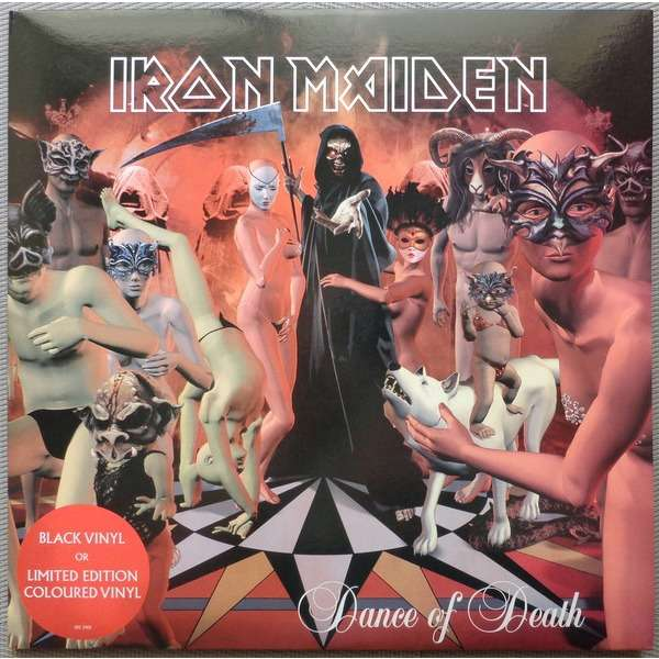 Image result for iron maiden dance of death