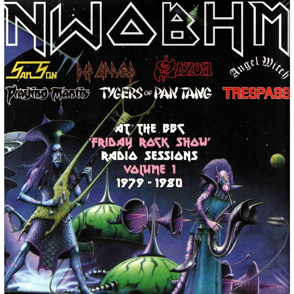 NWOBHM (New Wave Of British Heavy Metal) AT THE BBC - 'FRIDAY ROCK SHOW' VOLUME 1 1979-1980 (2xlp) Ltd Edit Gatefold Sleeve -E.U