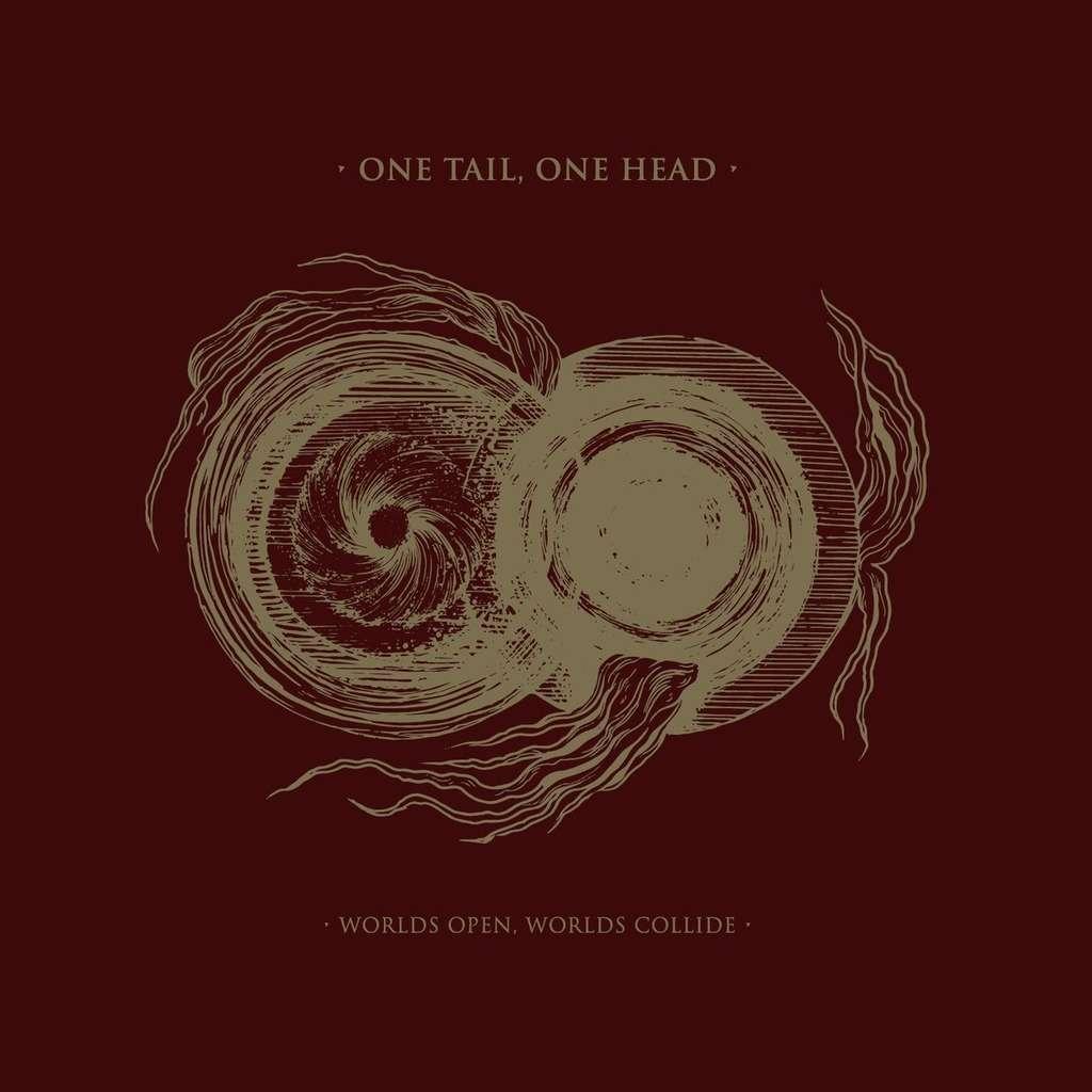 ONE TAIL, ONE HEAD Worlds Open, Worlds Collide. Black Vinyl