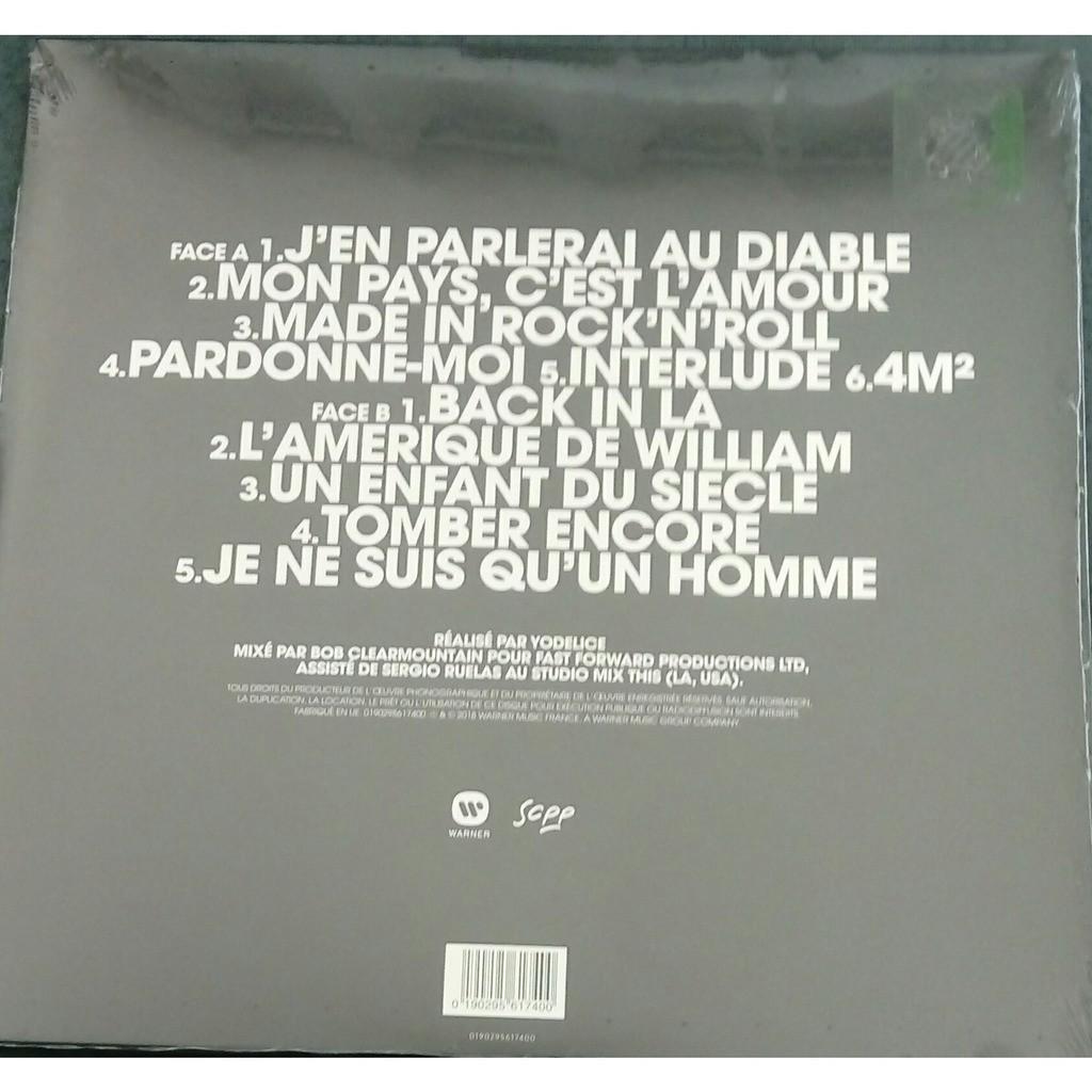 Mon Pays Cest Lamour De Johnny Hallyday 33 13 Rpm Con Jahjeff