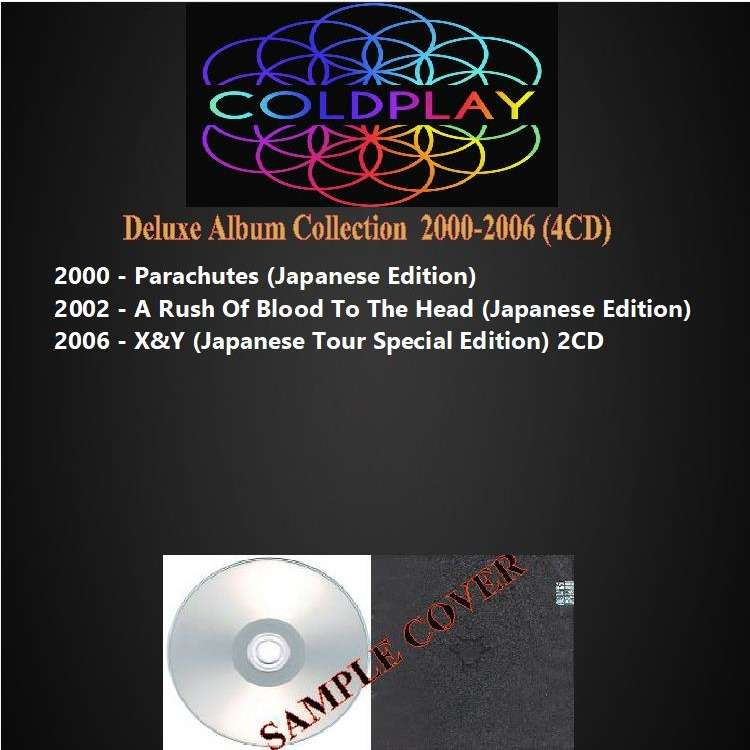 coldplay Deluxe Album Collection 2000-2006
