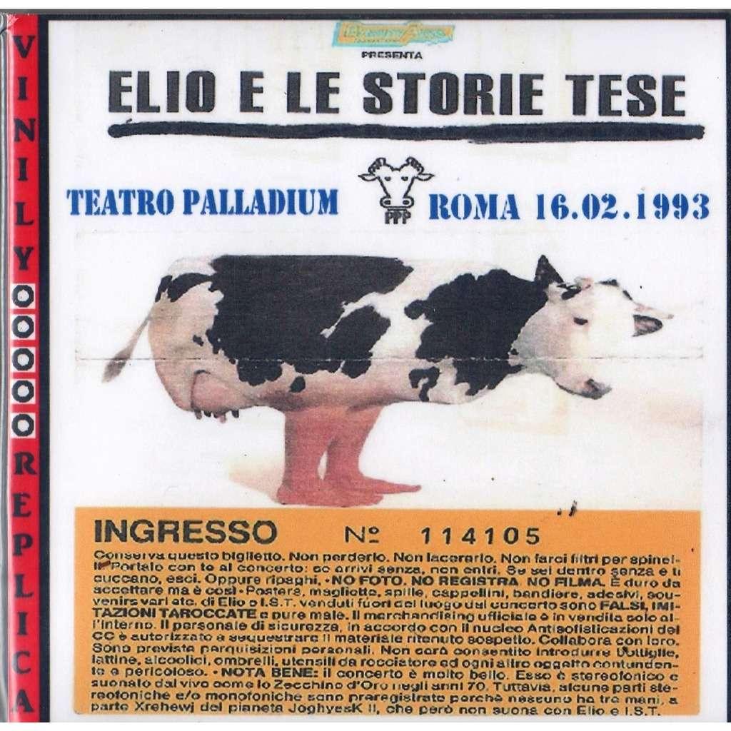 Elio E Le Storie Tese Live at 'Palladium' (ROMA 16.02.1993)
