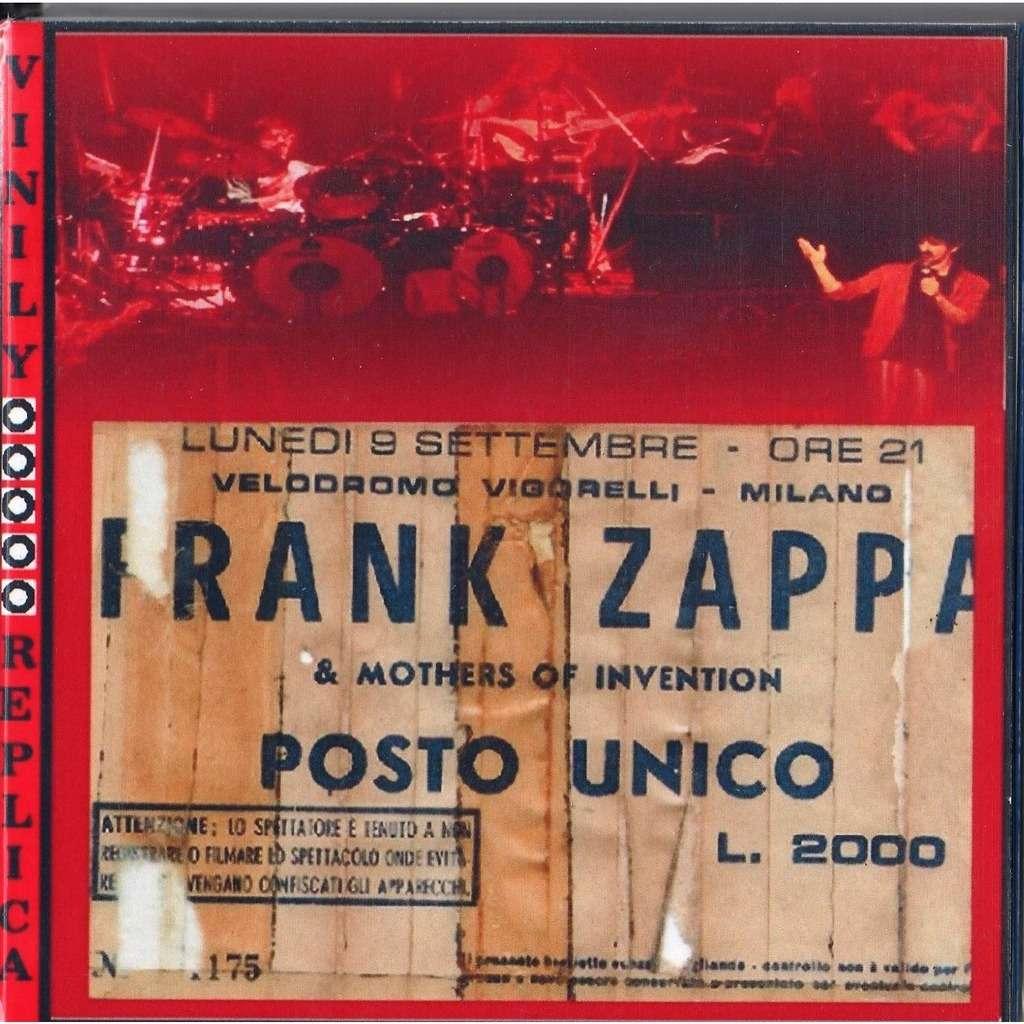 Frank Zappa Live at 'Velodromo Vigorelliì (Milano IT 09.09.1974)
