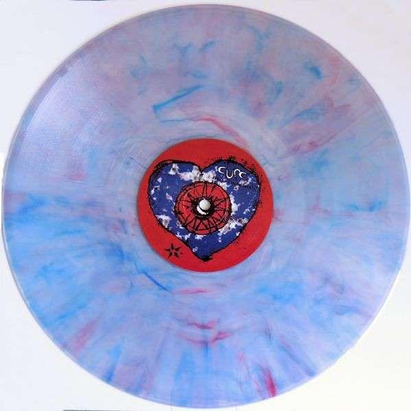 The Cure Friday I'm In Love (UK 1992 Ltd 3-trk 12ep Multicoloured/Lilac vinyl stickered pvc slv+insert!!)