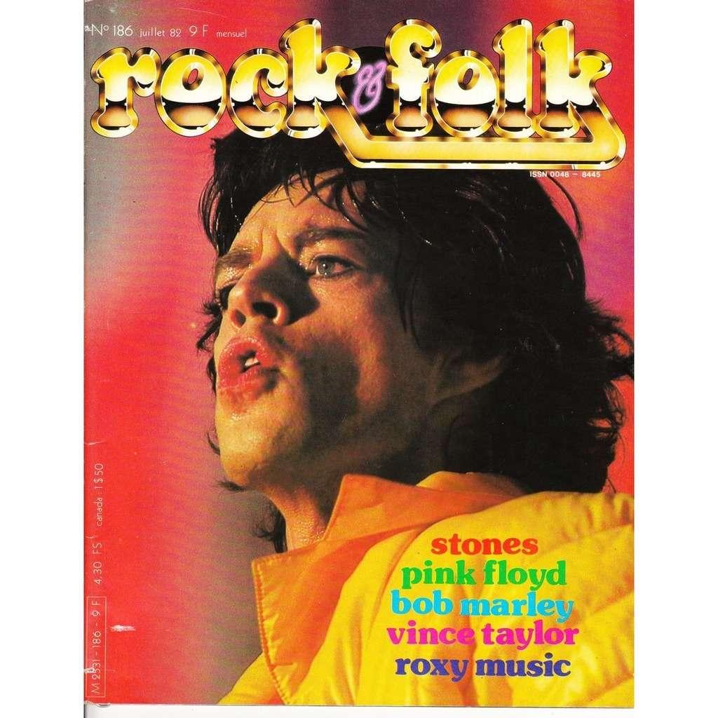 Rock & Folk N°186-juillet 1982