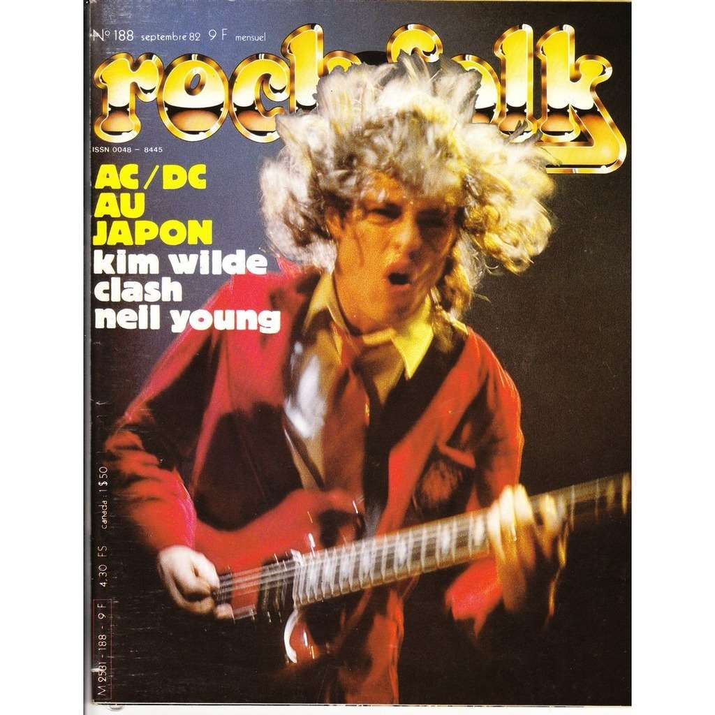 Rock & Folk N°188-septembre 1982