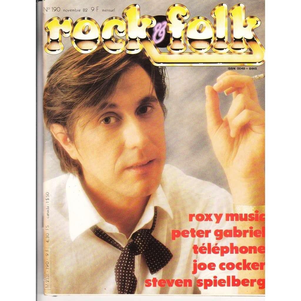 Rock & Folk N°190-novembre 1982
