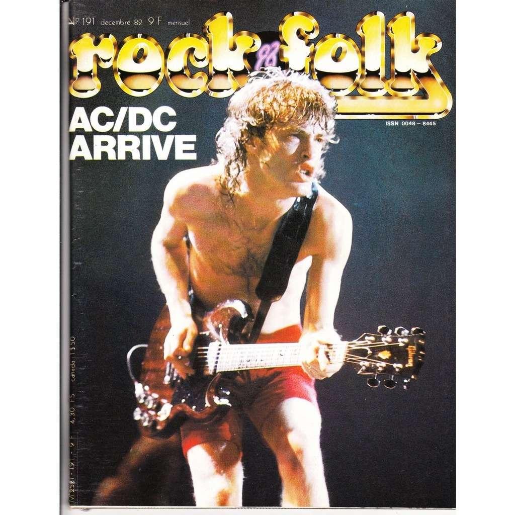 Rock & Folk N°191-décembre 1982