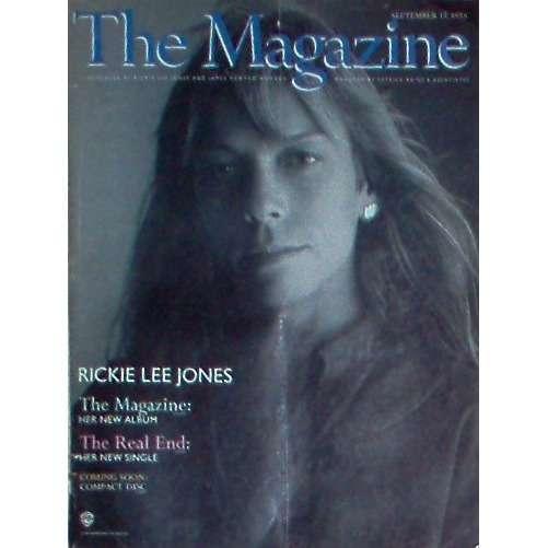 Rickie Lee Jones The Magazine (USA 1984 'WB' promo type advert 'album release' poster!!)