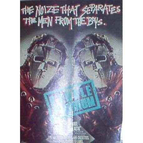 Quiet Riot Metal Health (USA 1984 'Pasha Records' promo type advert 'album release' poster!!)