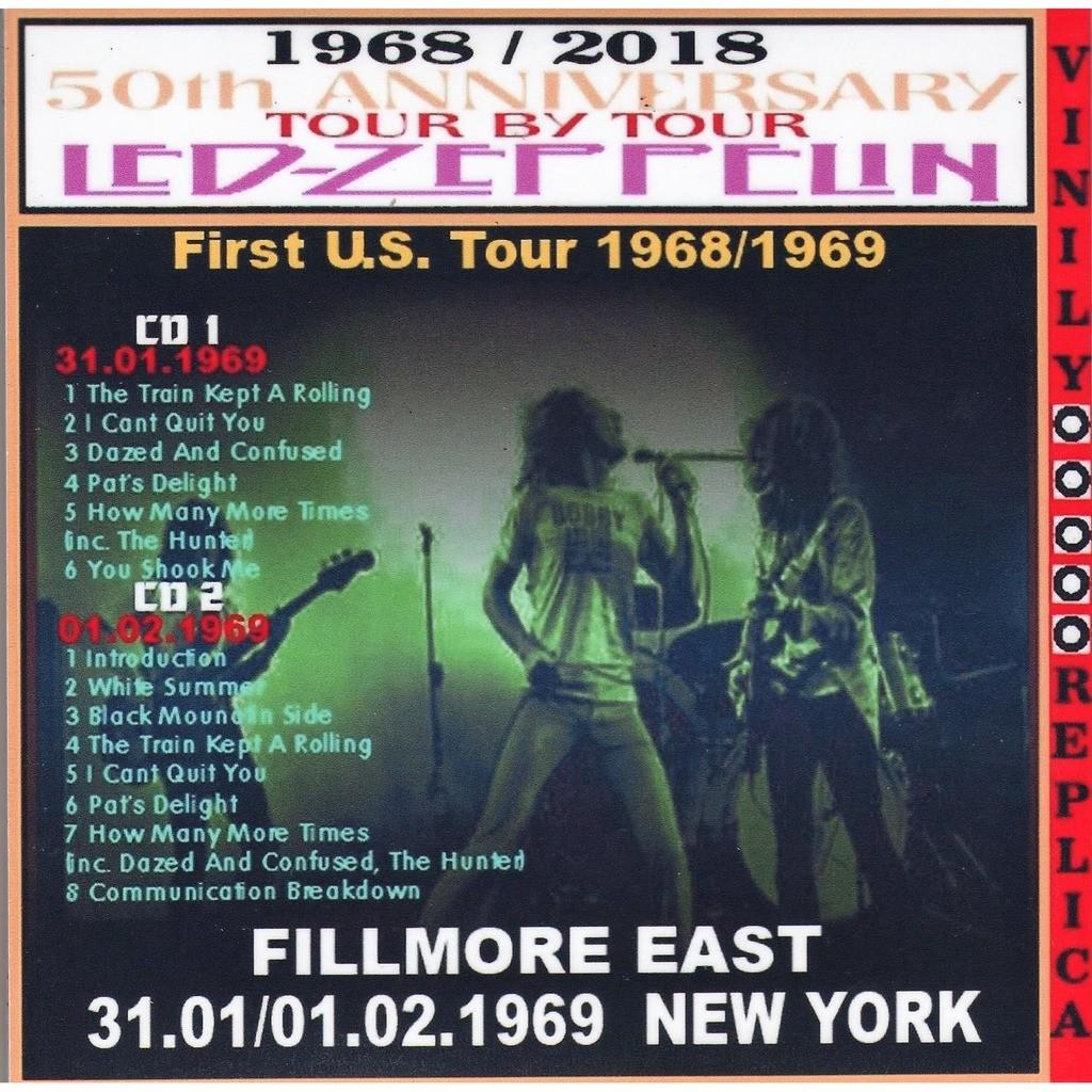 Led Zeppelin Live at 'Fillmore East' (New York 31.01/01.02.1969)