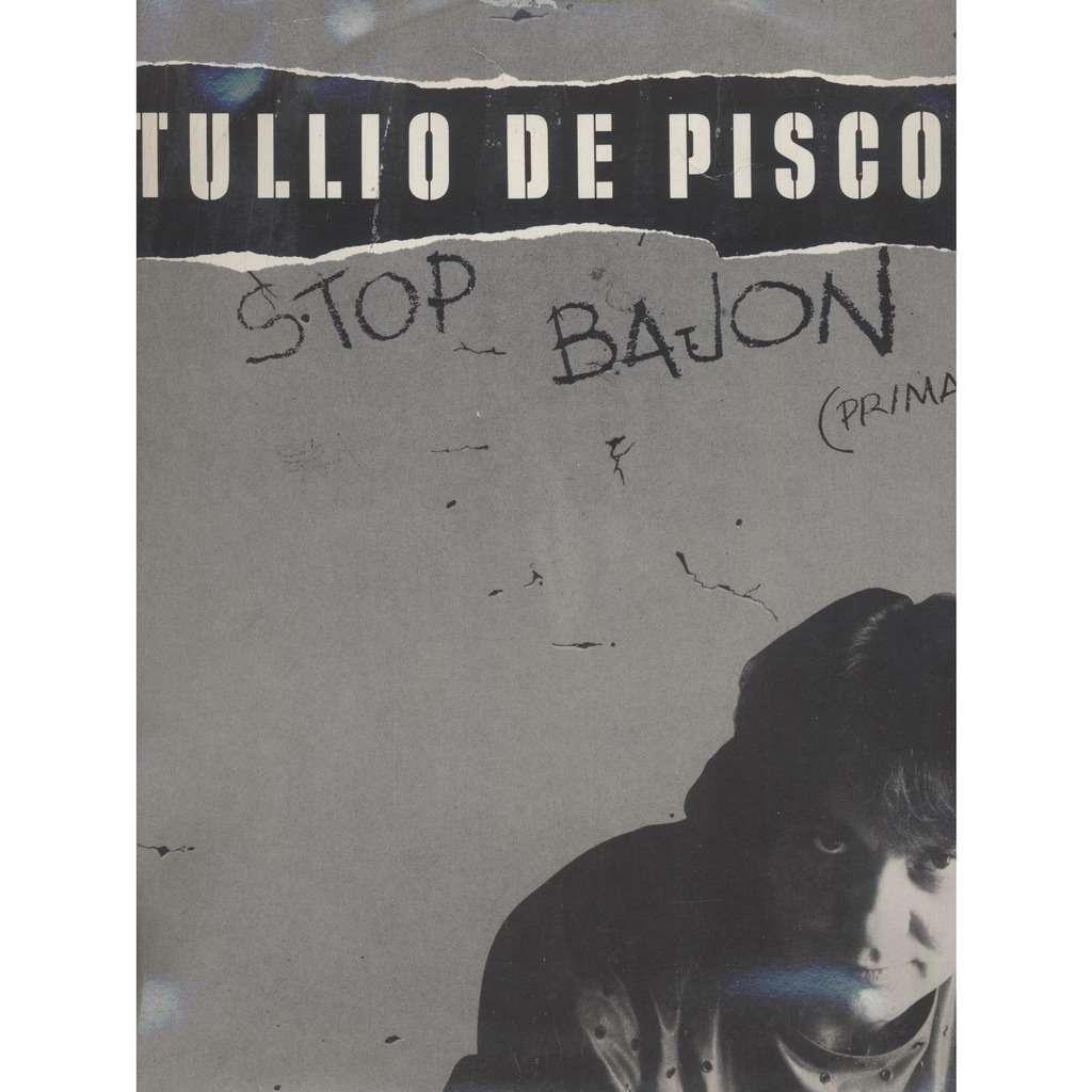 Tullio De Piscopo Stop Bajon (Primavera) / Stop Bajon (Instrumental)
