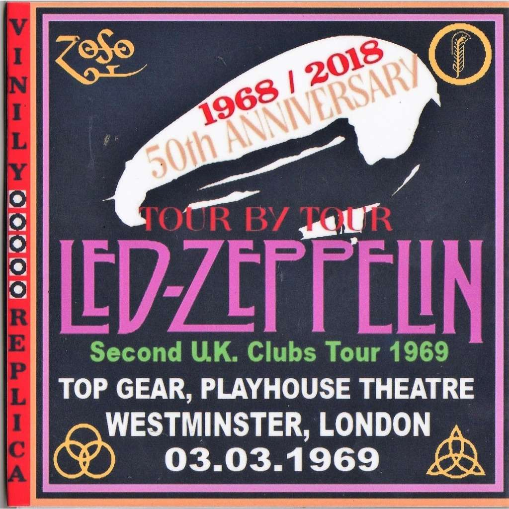 Led Zeppelin Live at 'Playhouse Theatre' (London UK 03.03.1969)