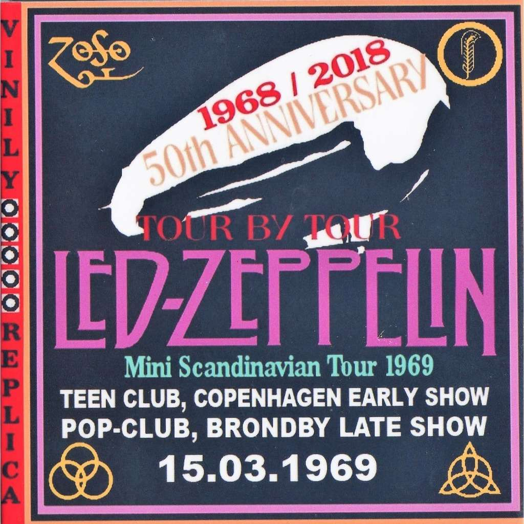 Led Zeppelin Live at 'Teen Club / Pop Club' (Copenhagen early & late show 15.03.1969)