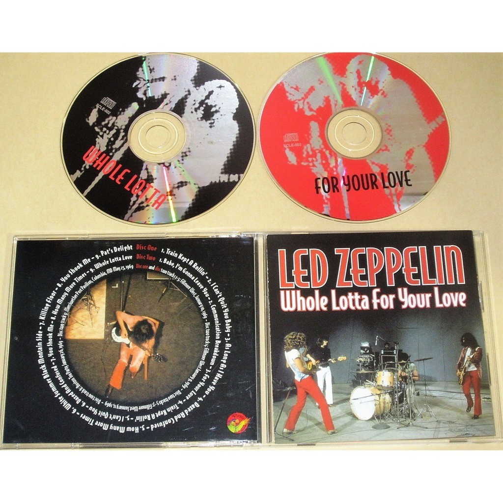 Led Zeppelin Whole Lotta For Your Love (Fillmore West 10.01.1969 etc.)