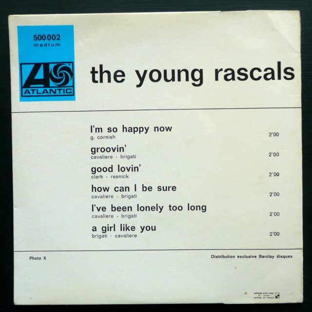 The Young Rascals The Young Rascals