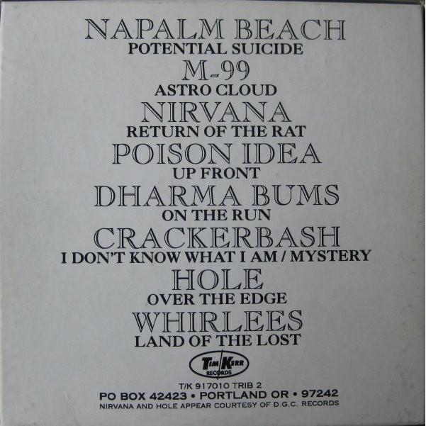 Hole Eight Songs for Greg Sage & the Wipers (Canada 1992 Ltd 8-trk V/A 4 x 7single BLU Wax Box set)