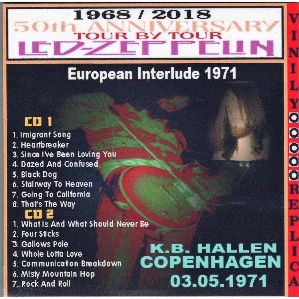 led zeppelin Live at 'K.B. Hallen' (Copenhagen DK 03.05.1971)