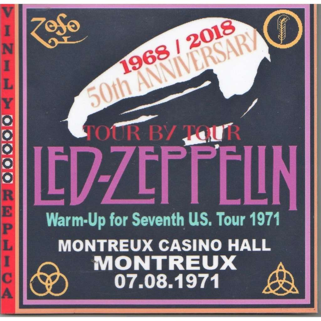 led zeppelin Live at 'Montreux Casino Hall' (Montreux CH 07.08.1971)