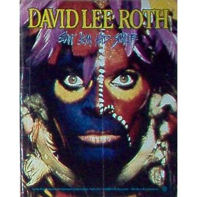 Van halen / David Lee Roth Eat Em And Smile (USA 1986 'Warner Bros'l promo type advert 'album release' poster!!)