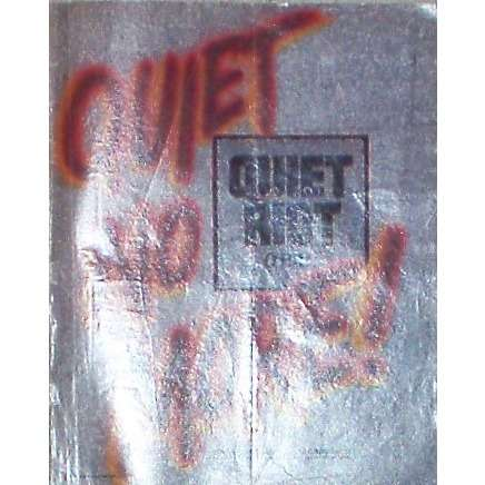 Quiet Riot QR III (USA 1986 'Pasha Records' promo type advert 'album release' poster!!)