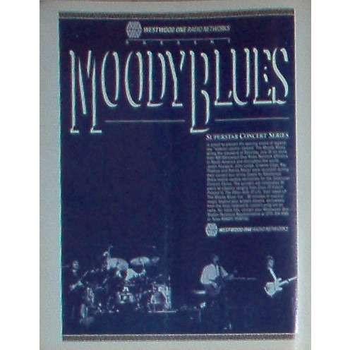 Moodt Blues Moodt Blues (USA 1986 'WWO' promo type advert 'Radio Program release' poster!!)