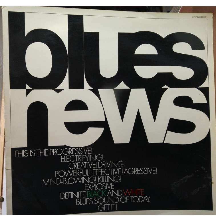 Muddy Waters, Jimi Hendrix, Howlin' Wolf, a.o. Blues News (WHITE VINYL)