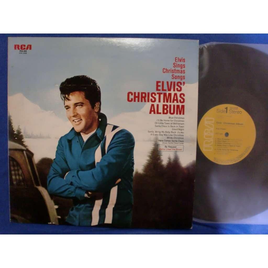 Elvis Christmas Album Vinyl.Elvis Presley Christmas Album