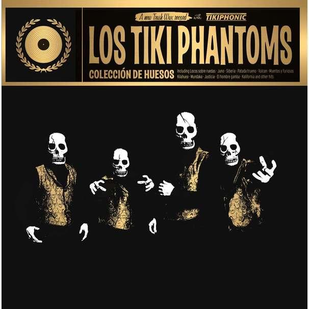 Los Tiki Phantoms Coleccion De Huesos (lp) Ltd Edit Gold Vinyl -E.U