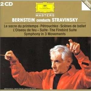Igor Stravinsky / Leonard Bernstein Bernstein Conducts Stravinsky: Le Sacre du Printemps - Pétrouchka - Scènes de Ballet l'Oiseau de Feu