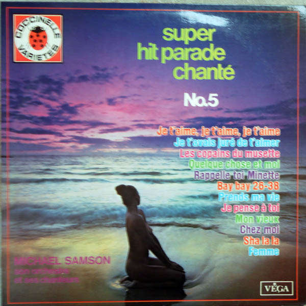 Michaël Samson (Maurice Larcange) Super hit-parade chanté n°5