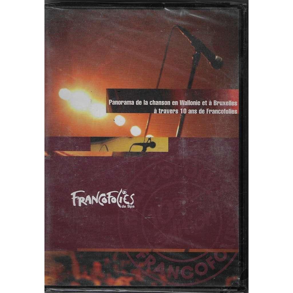 PIERRE RAPSAT, Maurane, Jo Lemaire, William Dunker FRANCOFOLIES DE SPA: Panorama de la chanson en Wallonie et Bruxelles à tavers 10 ans de FRANCOFOLIES