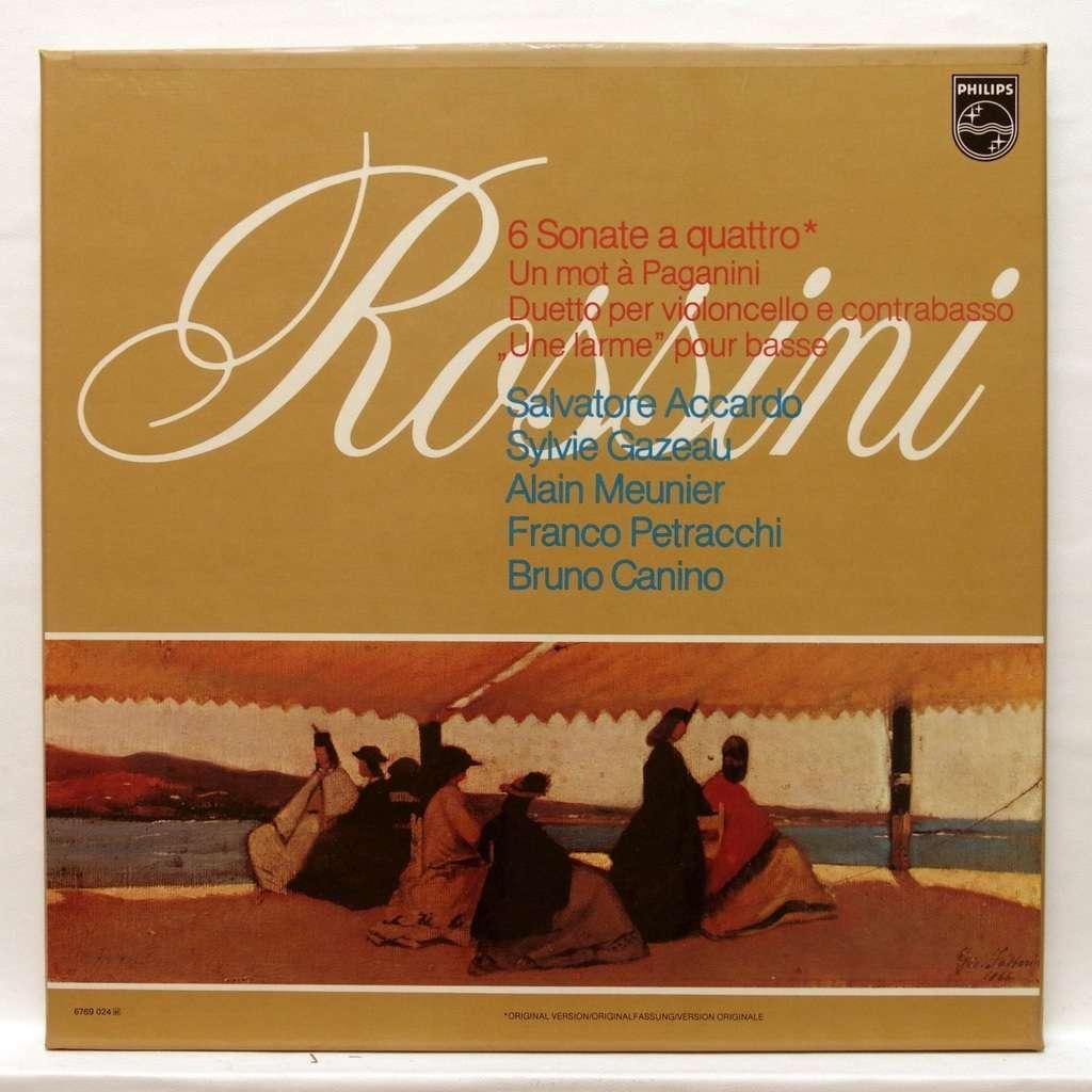 salvatore accardo Rossini : 6 sonate a quattro