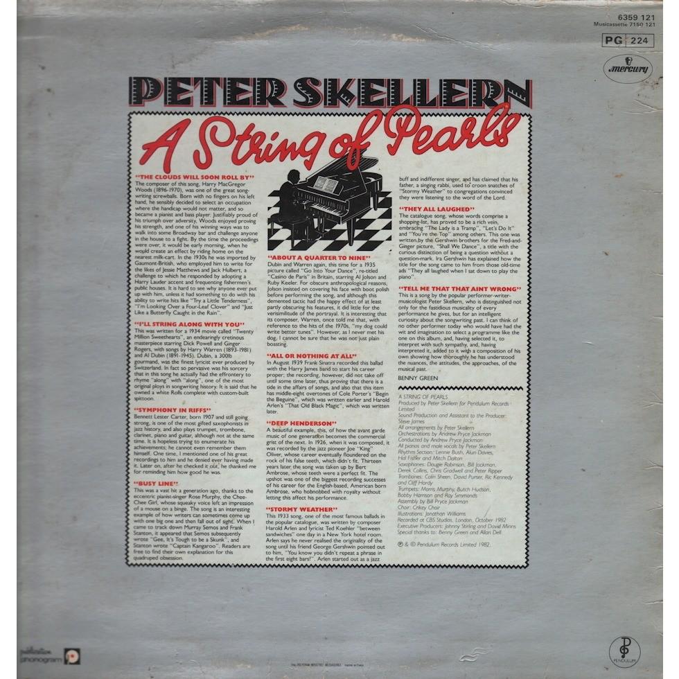 peter skellern a string of pearls