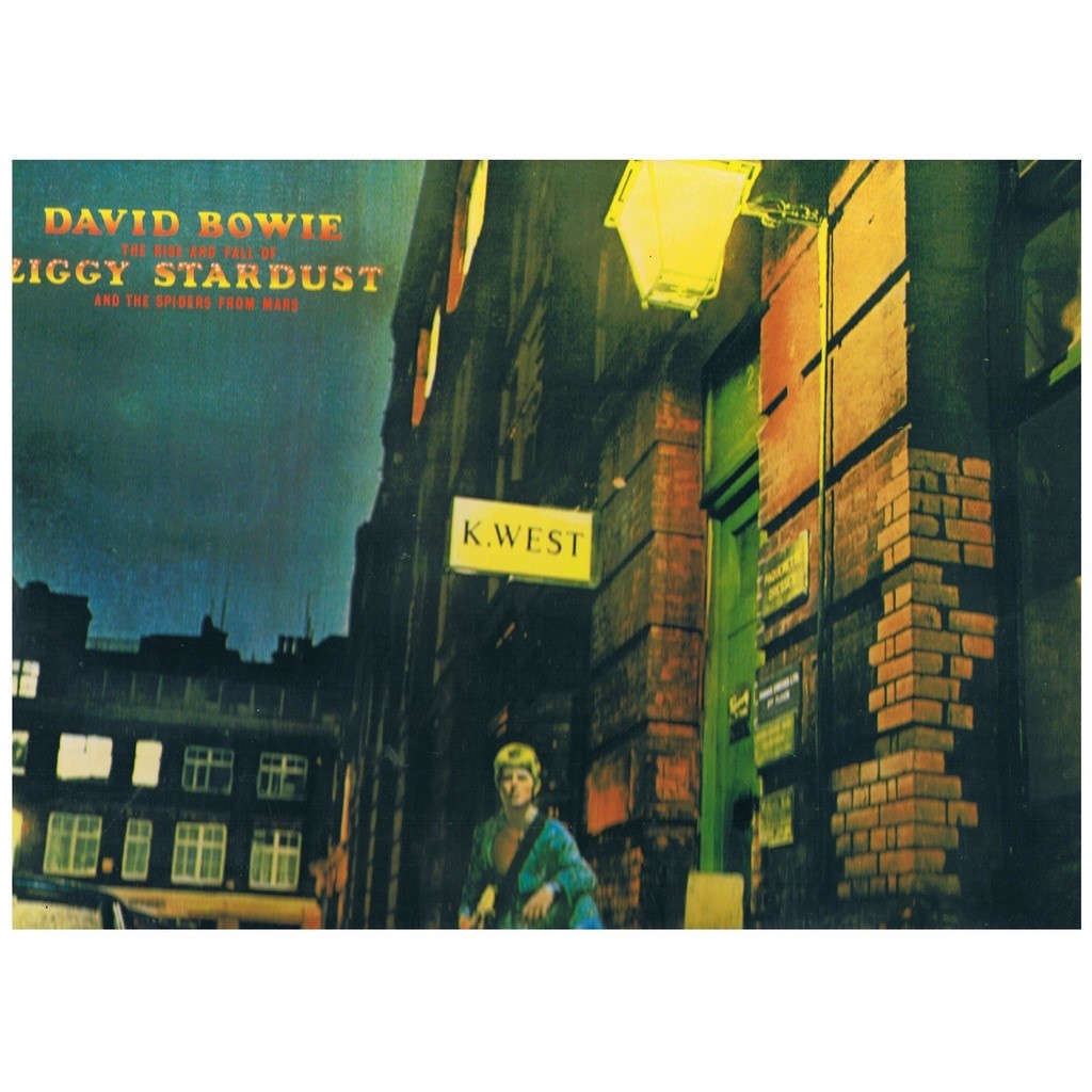 David Bowie The Rise And Fall Of Ziggy Stardust And The Spiders From Mars (1990 re-issue with 5 bonus tracks)