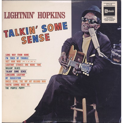 Lightnin' Hopkins Talkin' Some Sense