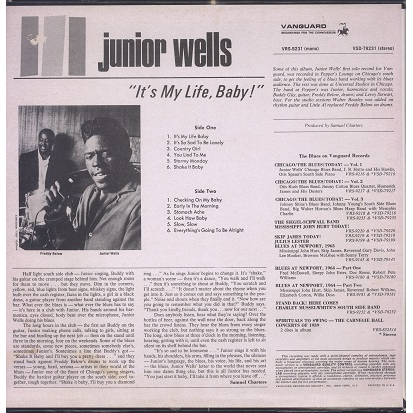 Junior Wells It's my life, baby!