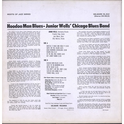 Junior Wells' Chicago Blues Band Hoodoo Man Blues