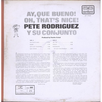 Pete Rodriguez Oh that's nice!