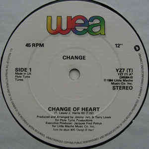 change change of heart