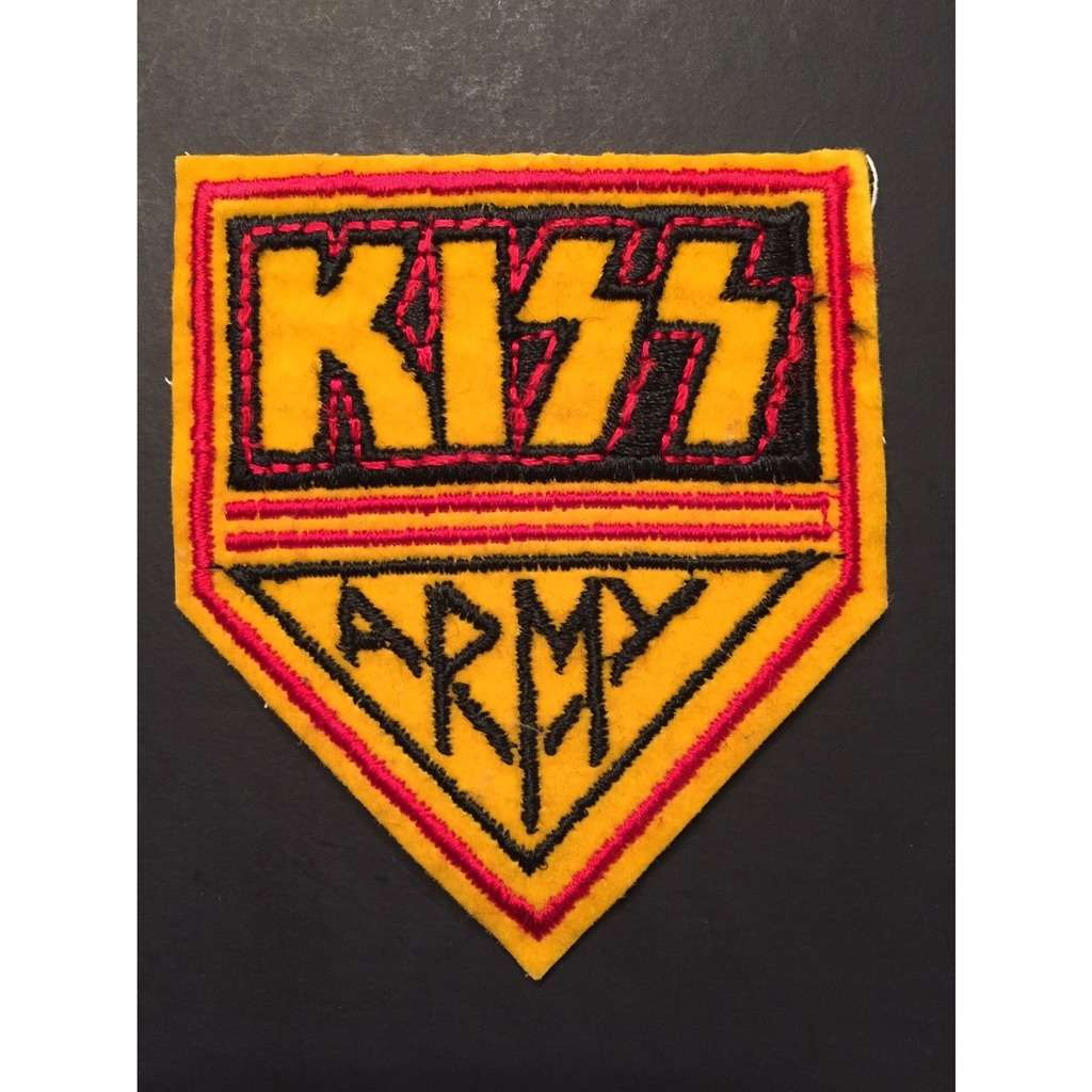 Kiss Kiss Army with Heat Seal Backing Brand New