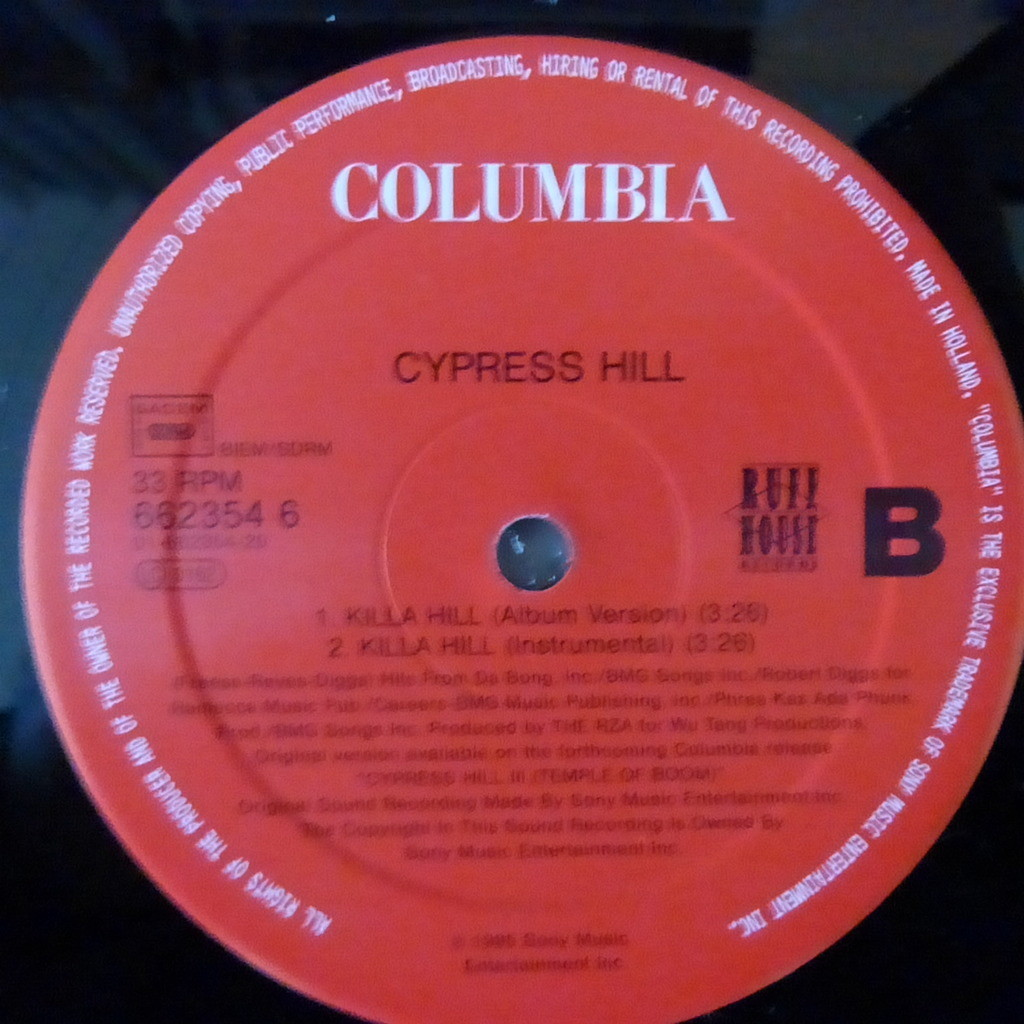 CYPRESS HILL THROW YOUR SET IN THE AIR + 3