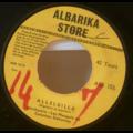 LES MONGOLS DE COTONOU - Alleluilla / Biowa - 7inch (SP)