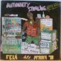 FELA ANIKULAPO KUTI & AFRICA 70 - Authority Stealing - LP