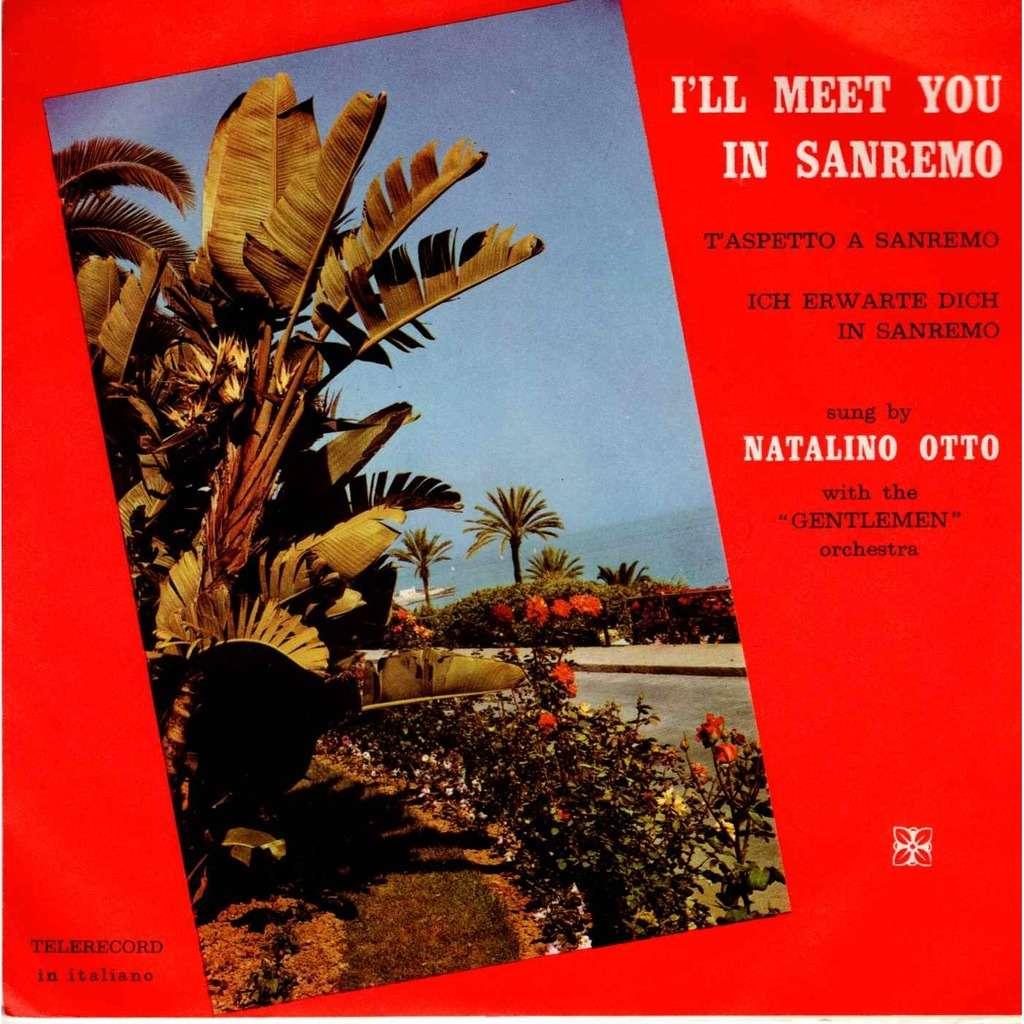 Natalino Otto I Romantici I'll meet you in sanremo t'aspetto a sanremo
