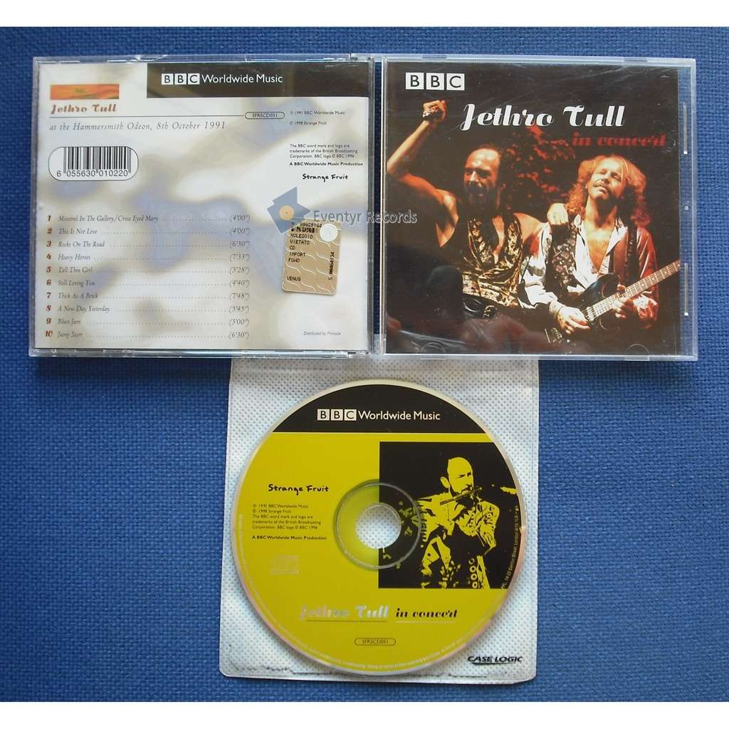 Jethro Tull In Concert (used)
