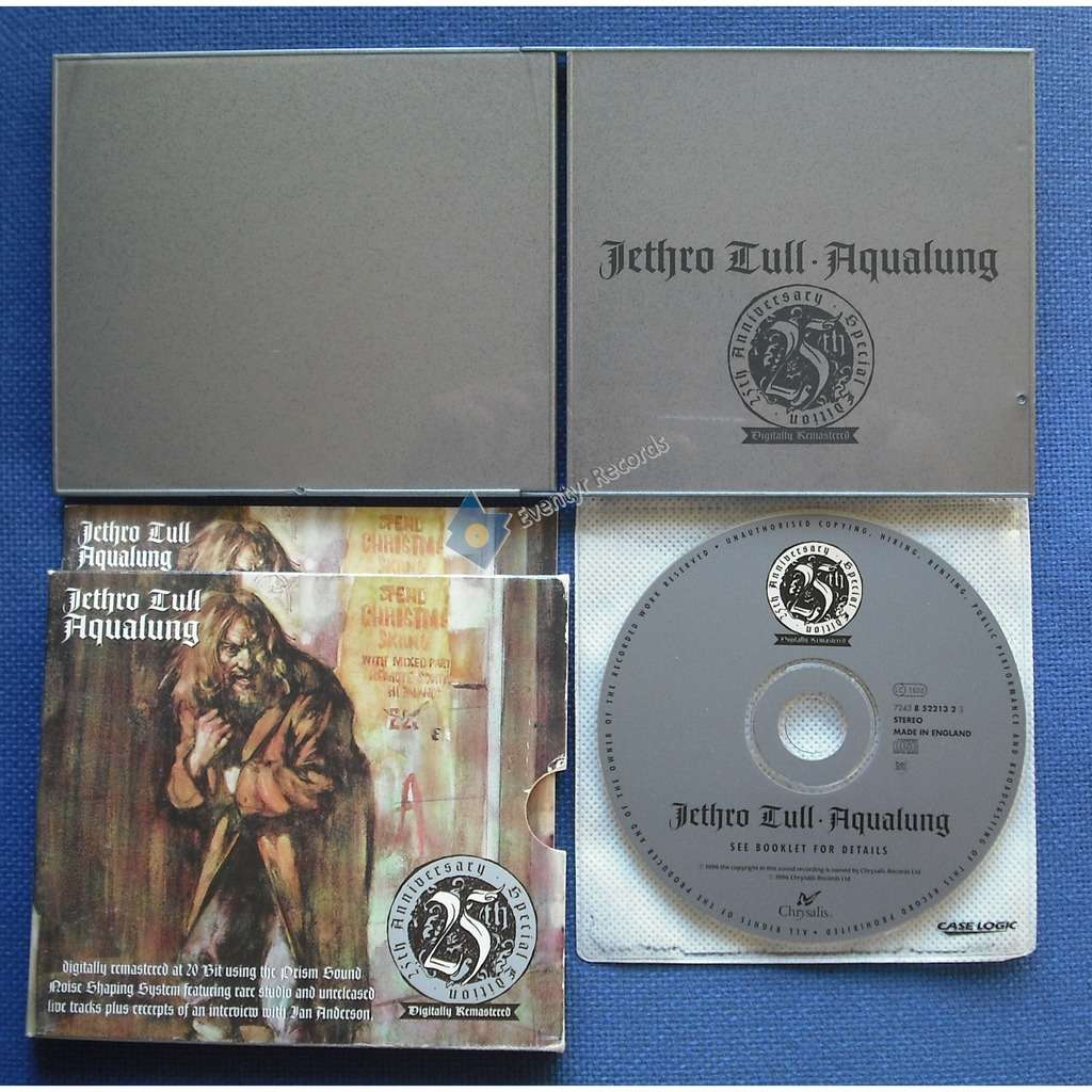 Jethro Tull Aqualung (25th Anniversary Special Edition) (used)