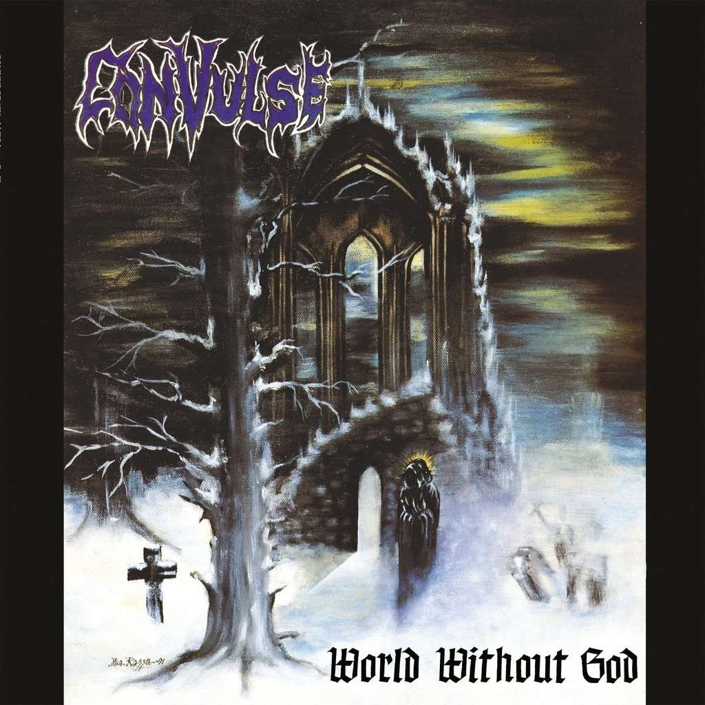 CONVULSE World Without God. Blue Vinyl