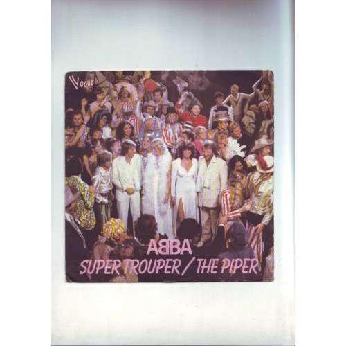 ABBA - super trouper -- the piper disque 45 tours